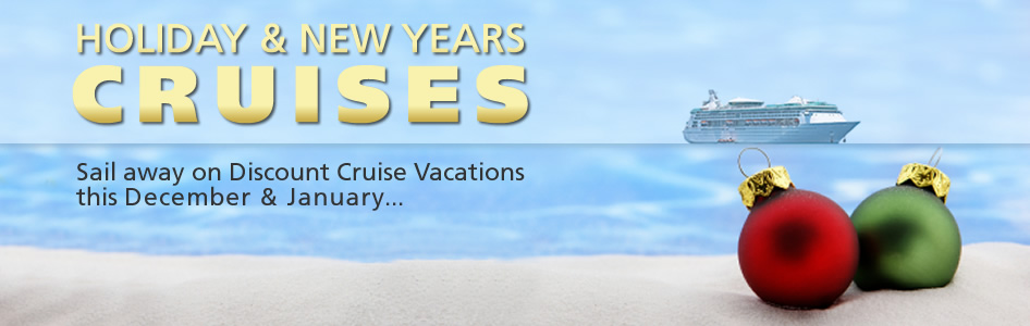 Holiday new years cruises cheap cruises red tag cruises for Cheapest vacations in january