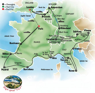 trips land tours europe ireland depth