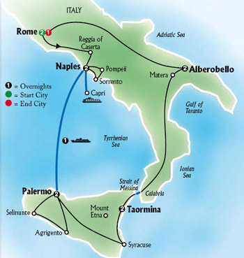 Globus best of italy optional excursions