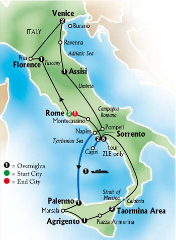 The Best of Italy and Sicily Tour | European Tours | Red Tag