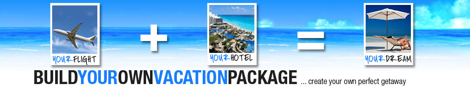 Build your own package air hotel save hundreds on for Build your own home packages