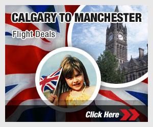 Calgary to Manchester
