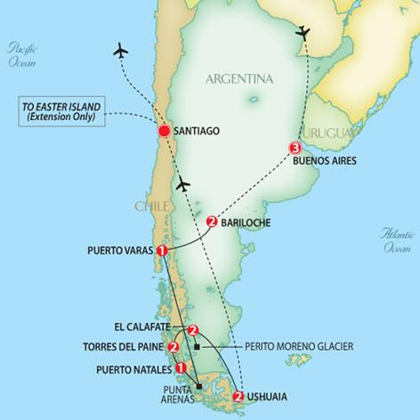 Natural Wonders Of Patagonia Trafalgar Escorted Tours
