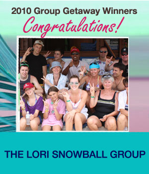 Group Getaway Winner 2010
