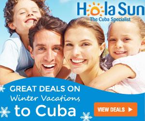 HolaSun Winter Vacation Deals