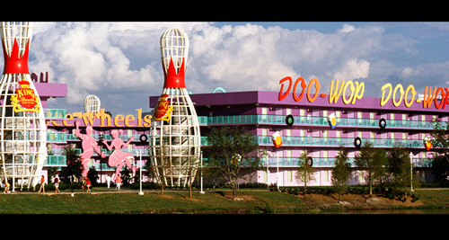 Disneys Pop Century Resort Cheap Vacations Packages Red