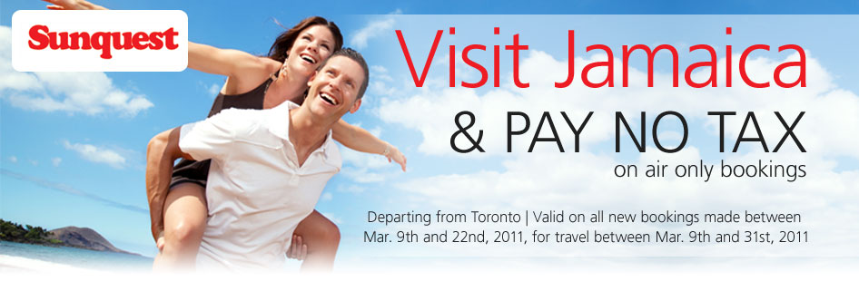Sunquest Vacations and Flights, Book your Cheap Sunquest Vacations and