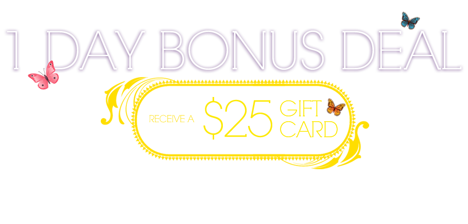 One day bonus deal receive a 25 gift card red tag for Good friday hotel deals