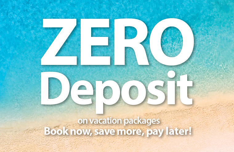 Airline tickets vacation packages cruises last for Book now pay later vacation