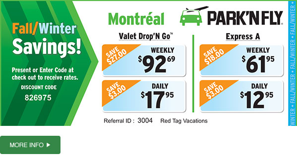 Find cheap parking at Montreal Trudeau Airport for as little as $ a day! Convenient location, great YUL parking rates, and free shuttle service. Book today! Find cheap parking at Montreal Trudeau Airport for as little as $ a day! Convenient location, great YUL parking rates, and .
