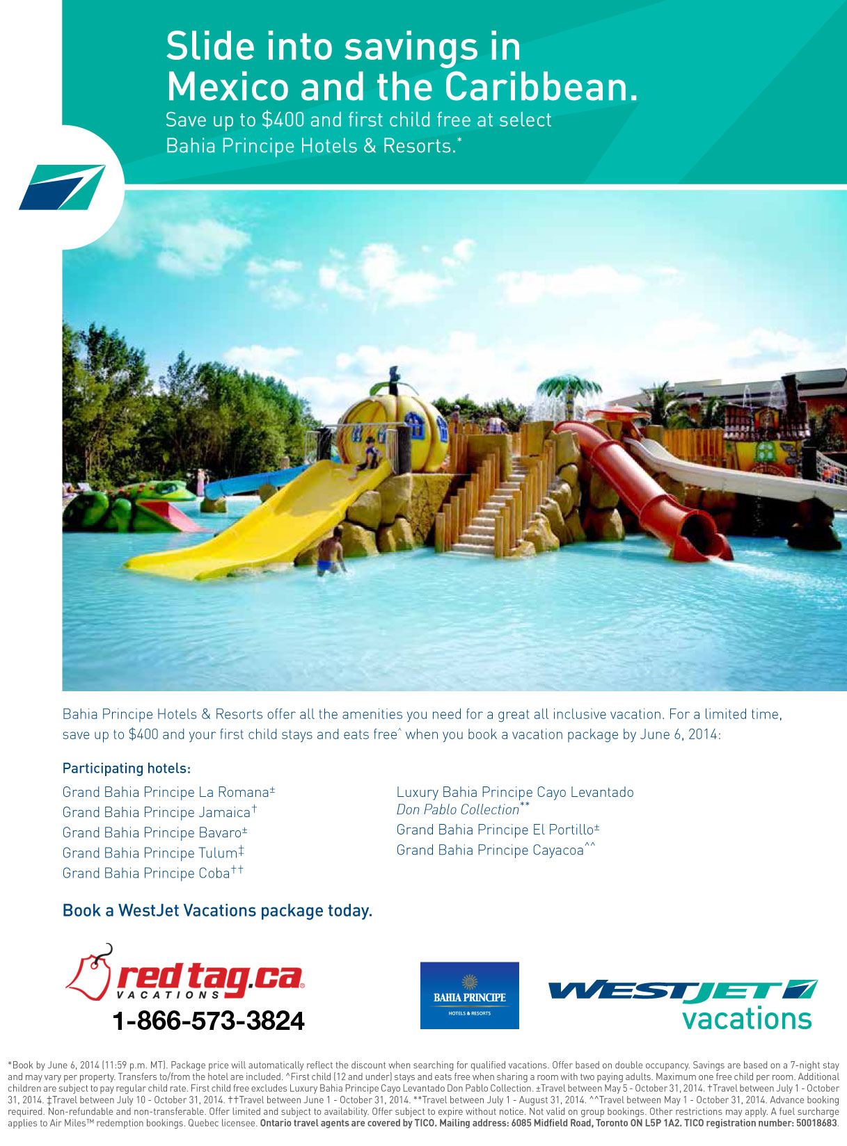 WestJet Vacations  WestJet Last Minute Deals  All
