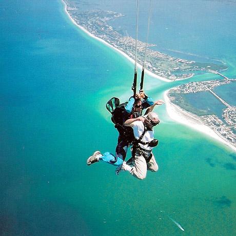 Skydiving destin fl